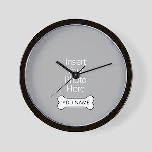 Dog Bone Pet Wall Clock