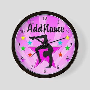 GYMNAST WINNER Wall Clock