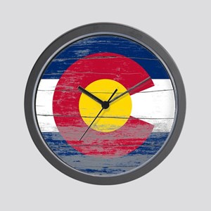 Colorado Old Paint Wall Clock