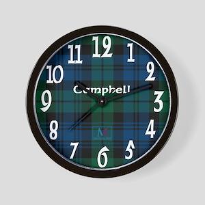 Campbell Clan Wall Clock