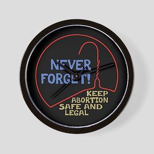 Safe & Legal Wall Clock