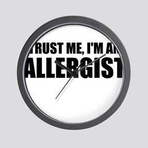 Trust Me, Im An Allergist Wall Clock