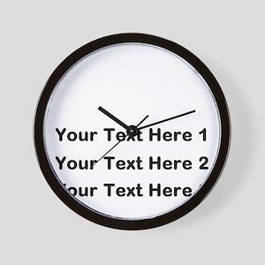 Make Personalized Gifts Wall Clock