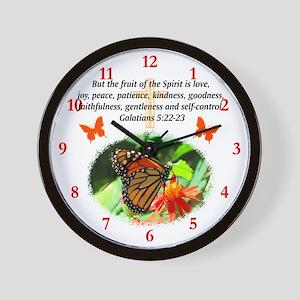 GALATIANS 5 Wall Clock