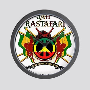 Jah Rastafari Wall Clock