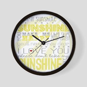 sunshine11 Wall Clock