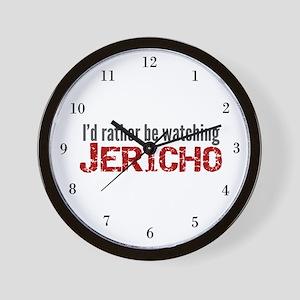 Jericho TV Show Wall Clock