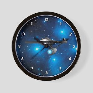STARTREK 1701A PLEIADES Wall Clock