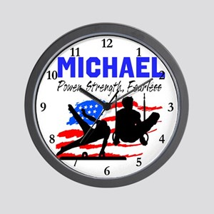 GYMNASTICS CHAMP Wall Clock