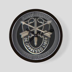 Special Forces Green Berets Wall Clock