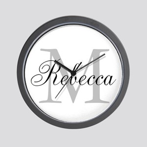 Monogram Initial And Name Personalize It! Wall Clo