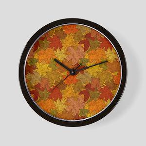 Fall Token Wall Clock
