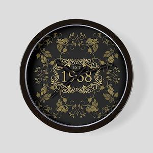 1968 Birth Year Wall Clock