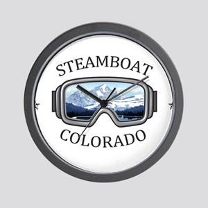 Steamboat Ski Resort - Steamboat Spri Wall Clock