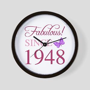 1948 Fabulous Birthday Wall Clock