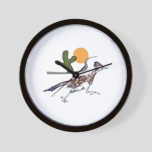 ROADRUNNER SCENE Wall Clock