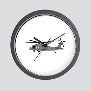 Black Hawk Helicopter Wall Clock