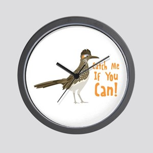 Catch Me If You Can! Wall Clock