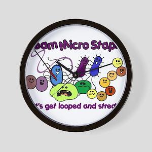 bacterialove Wall Clock