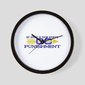 My Sport/Punishment Wall Clock