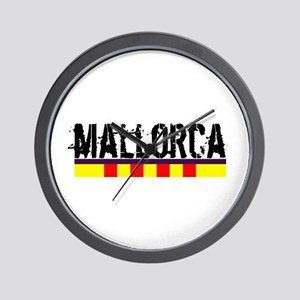 Mallorca Wall Clock