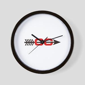 Cross Country Logo Wall Clock
