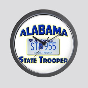 Alabama State Trooper Wall Clock