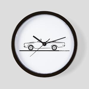 1968 1969 Roadrunner Convertible Wall Clock