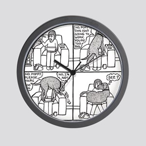Poppy The Lapdog Wall Clock