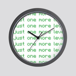 One more level Wall Clock