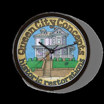 Queen City Concepts Wall Clock