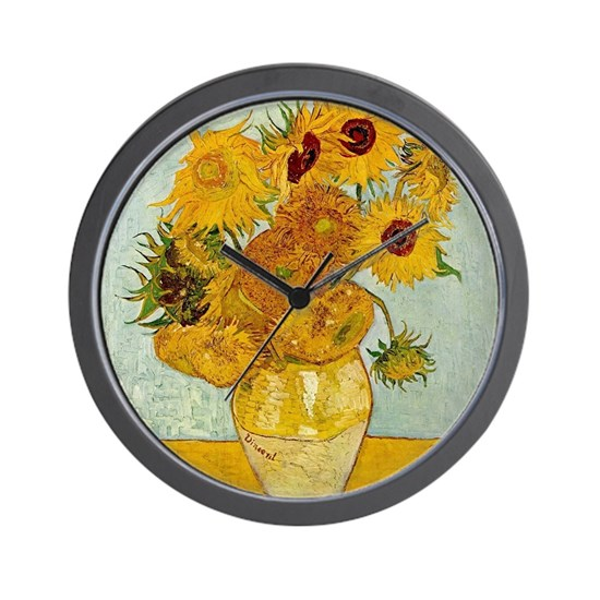 Vincent Van Gogh Painting Wall Clock