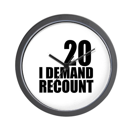 20 I Demand Recount