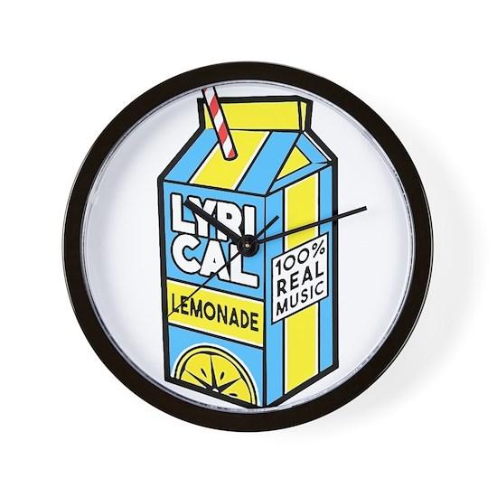 Lyrical Lemonade Wall Clock