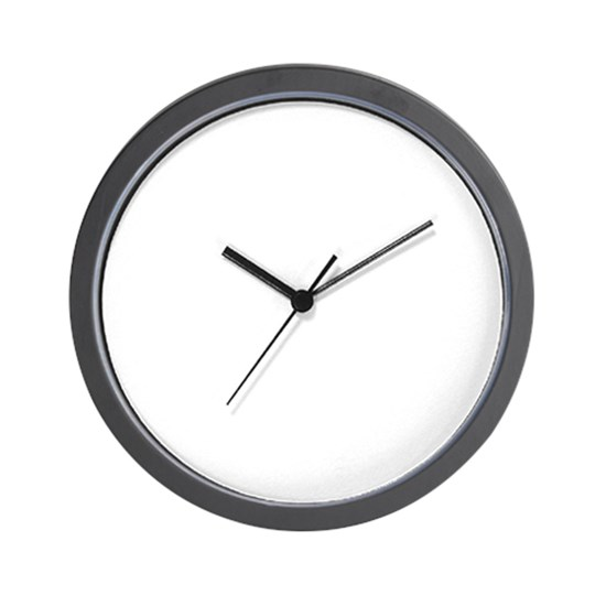Brookdale soda orange 9x9 clock