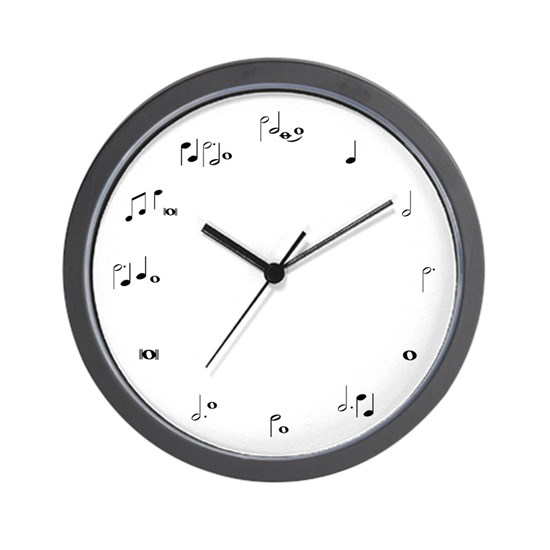 Music notes musician time