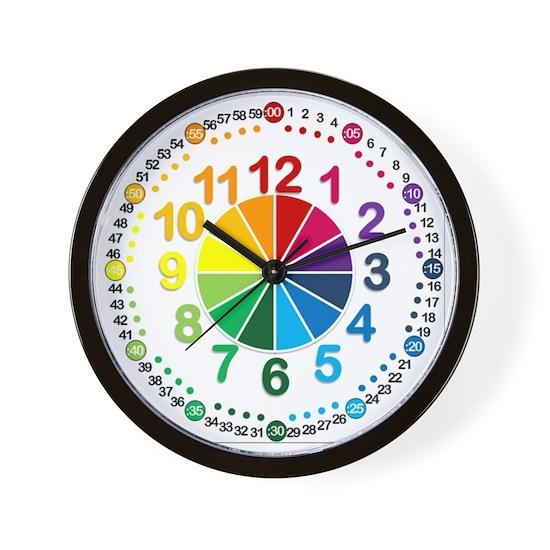 Read It Myself Clock