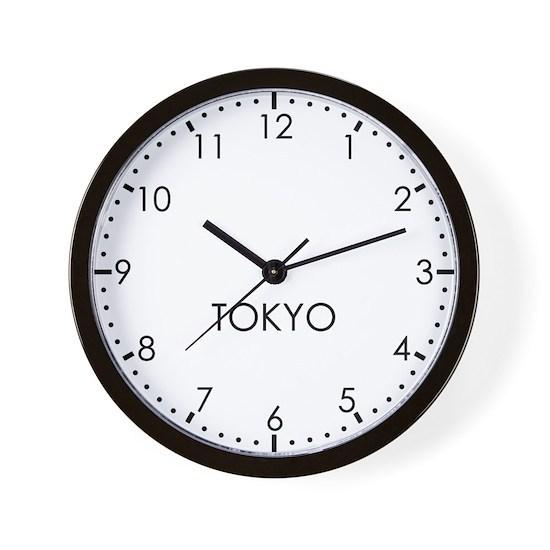 TOKYO Newsroom Wall Clock