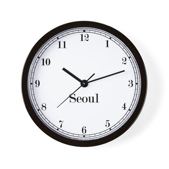 Seoul Station Wall Clock
