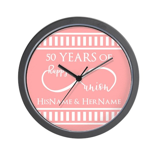 Infinity 50th Wedding Anniversary Personalized