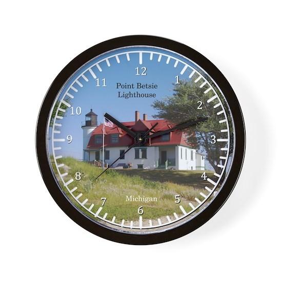 Pt Betsie Lighthouse clock