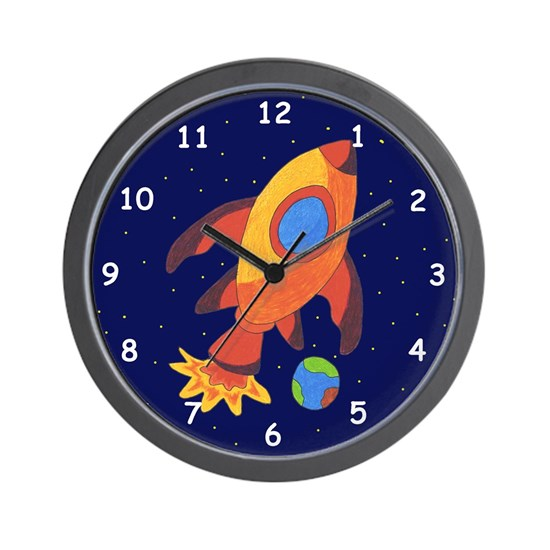 rocketshipclock