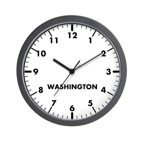 Custom Modern Newsroom Clock