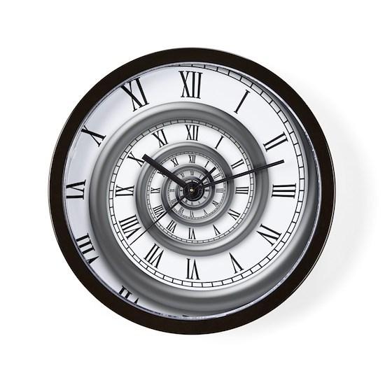 Roman Spiral Clock