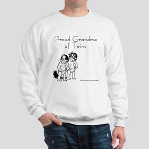 Proud Grandma of Twins BG Sweatshirt
