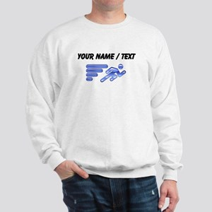 Custom Running Icon Sweatshirt