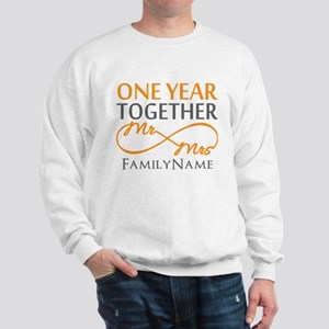 Gift For 1st Wedding Anniversary Sweatshirt