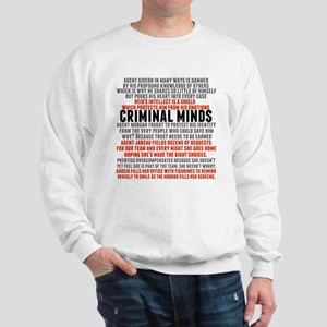 Criminal Minds Team Sweatshirt
