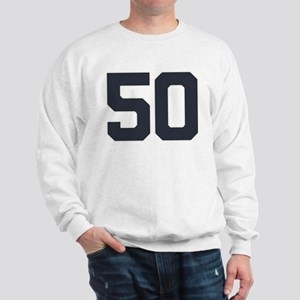 50 50th Birthday 50 Years Old Sweatshirt