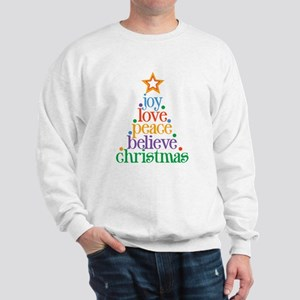 Joy Love Christmas Sweatshirt